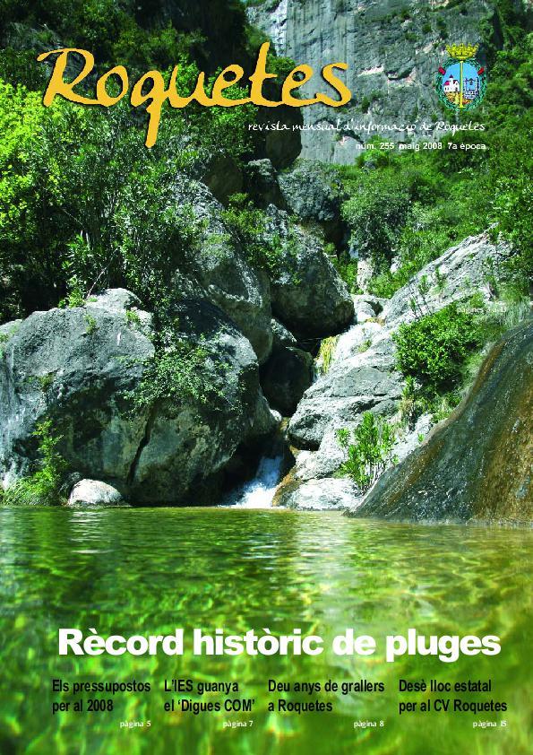 REVISTA D'INFORMACIÓ LOCAL ROQUETES Nº255-05-2008.pdf
