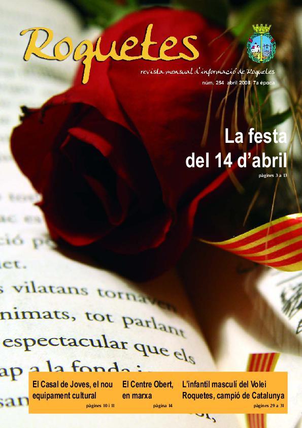 REVISTA D'INFORMACIÓ LOCAL ROQUETES Nº254-04-2008.pdf