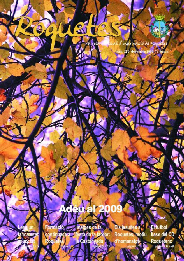 REVISTA D'INFORMACIÓ LOCAL ROQUETES Nº270-12-2009.pdf