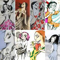"""Il·lustració """"Dia de la dona' d'Ignasi Blanch, 2020"""