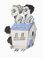 Il·lustració 'Confinats' d'Ignasi Blanch, 2020